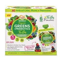 Healthy Delights Naturals Organic Greens + Prebiotics to Go, 6Count