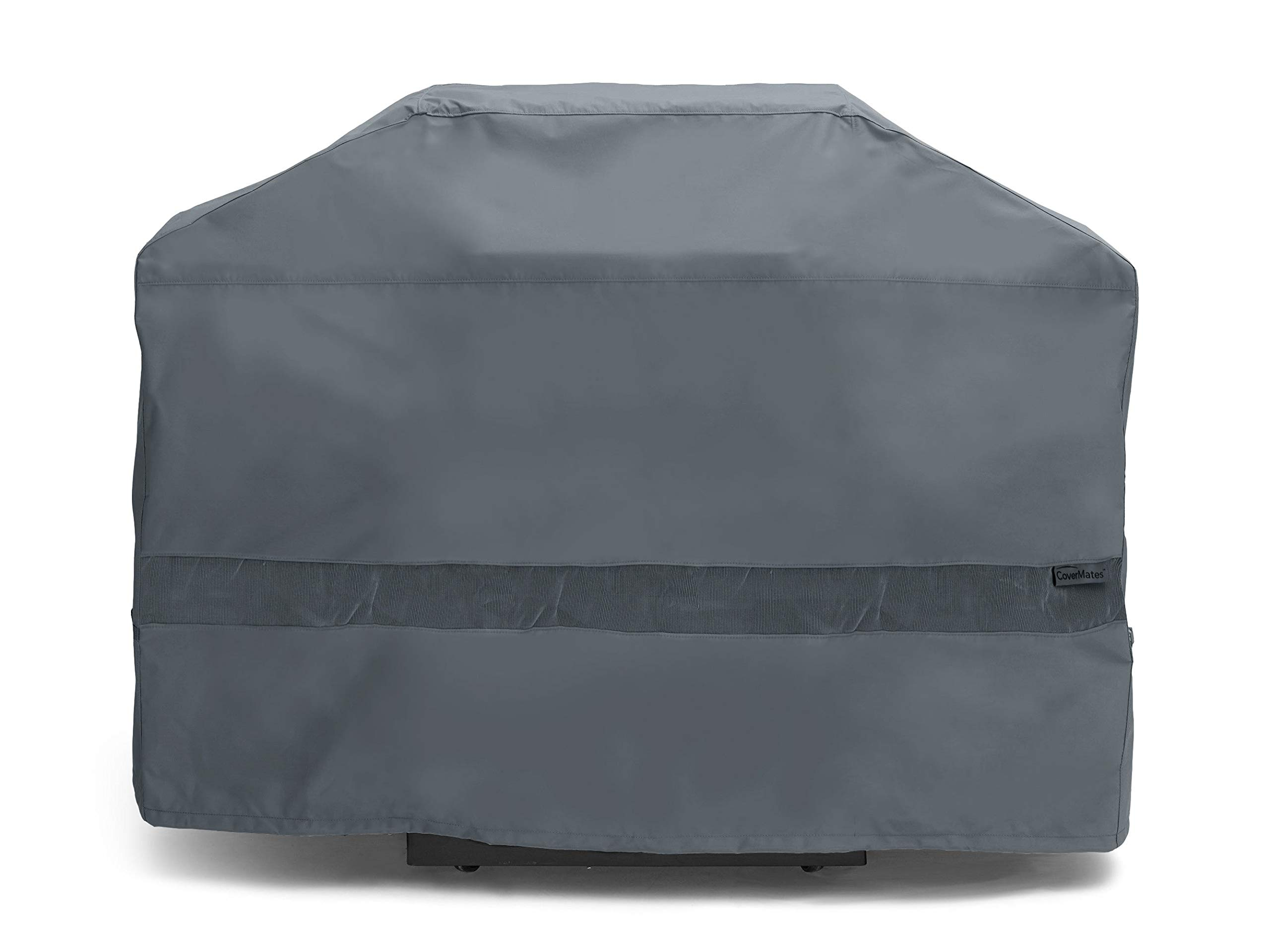 Covermates – Grill Cover – 66W x 26D x 45H – Elite – Open Mesh Vent for Breathability – Adjustable Drawcord to Cinch Cover – 3 YR Warranty – Weather Resistant - Charcoal