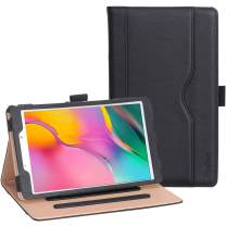 ProCase Galaxy Tab A 8.0 Case 2019 T290 T295, Stand Folio Case Cover for Galaxy Tab A 8.0 Inch 2019 Without S Pen Model SM-T290 (Wi-Fi) SM-T295 (LTE) –Black