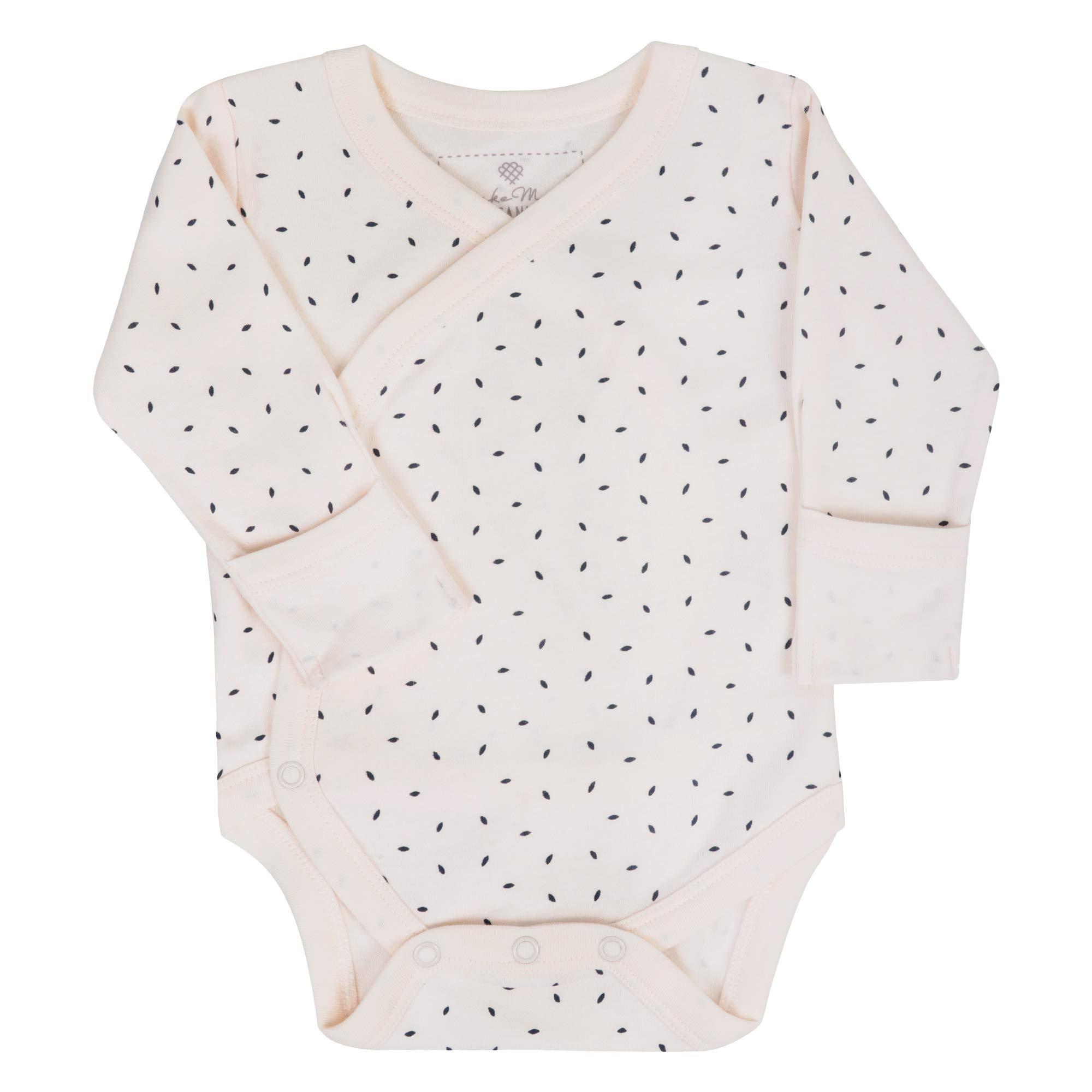 MakeMake Organics Organic Cotton Baby Kimono Bodysuit