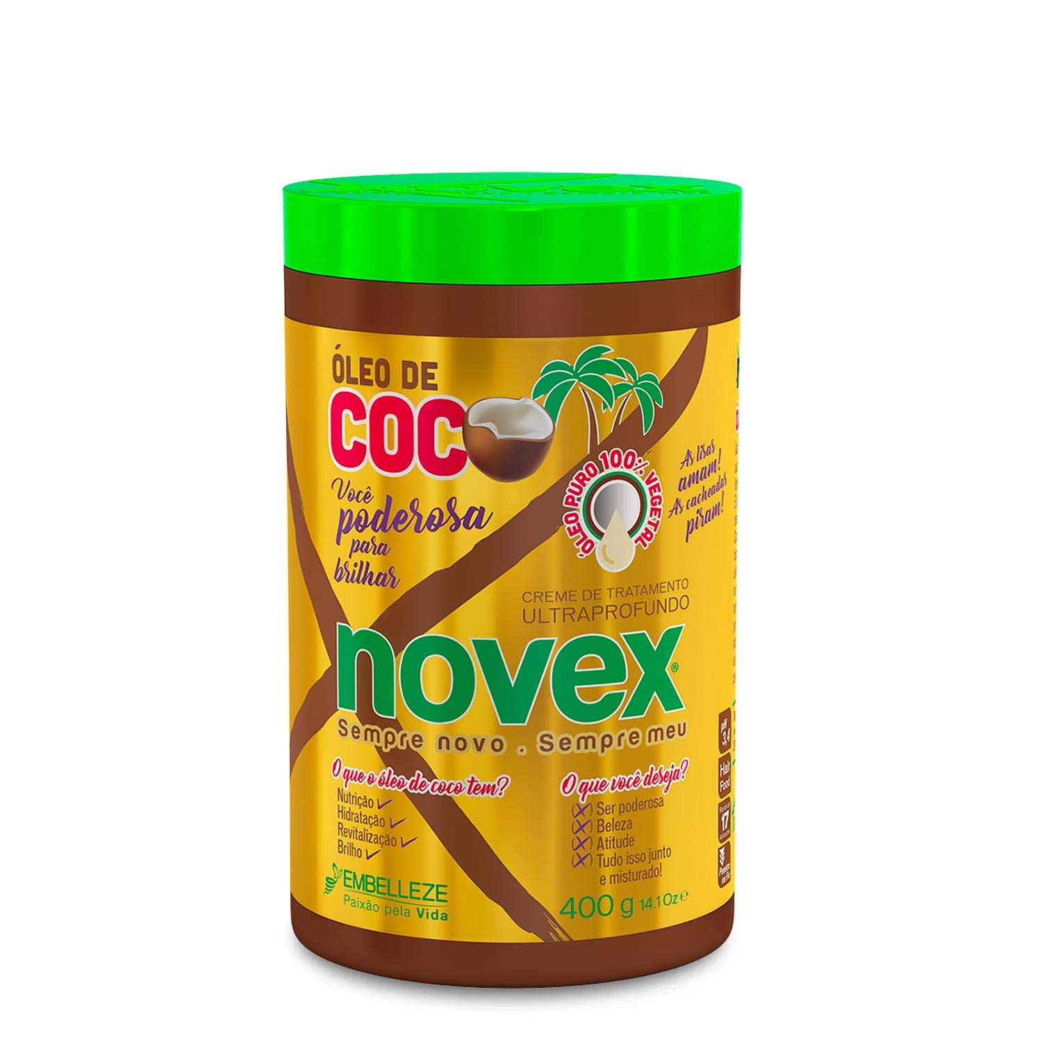 Novex Hair Care Coconut Oil Deep Conditioning Mask, 35 oz (Condition mask)