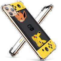 """Coralogo for iPhone 11 TPU Case, Cute Cartoon Funny Design Slim Ultra Clear Bumper Protective Fashion Fun Cool Stylish Soft Cover Skin Teens Kids Girls Boys Cases for iPhone 11 6.1"""" (Yellow Pika Games"""