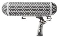 Marantz ZP-1 Professional Blimp-Style Microphone Windscreen and Shockmount with Synthetic Fur Slip-On Cover, Adjustable Internal Microphone Suspension System, Twist-on Endcaps