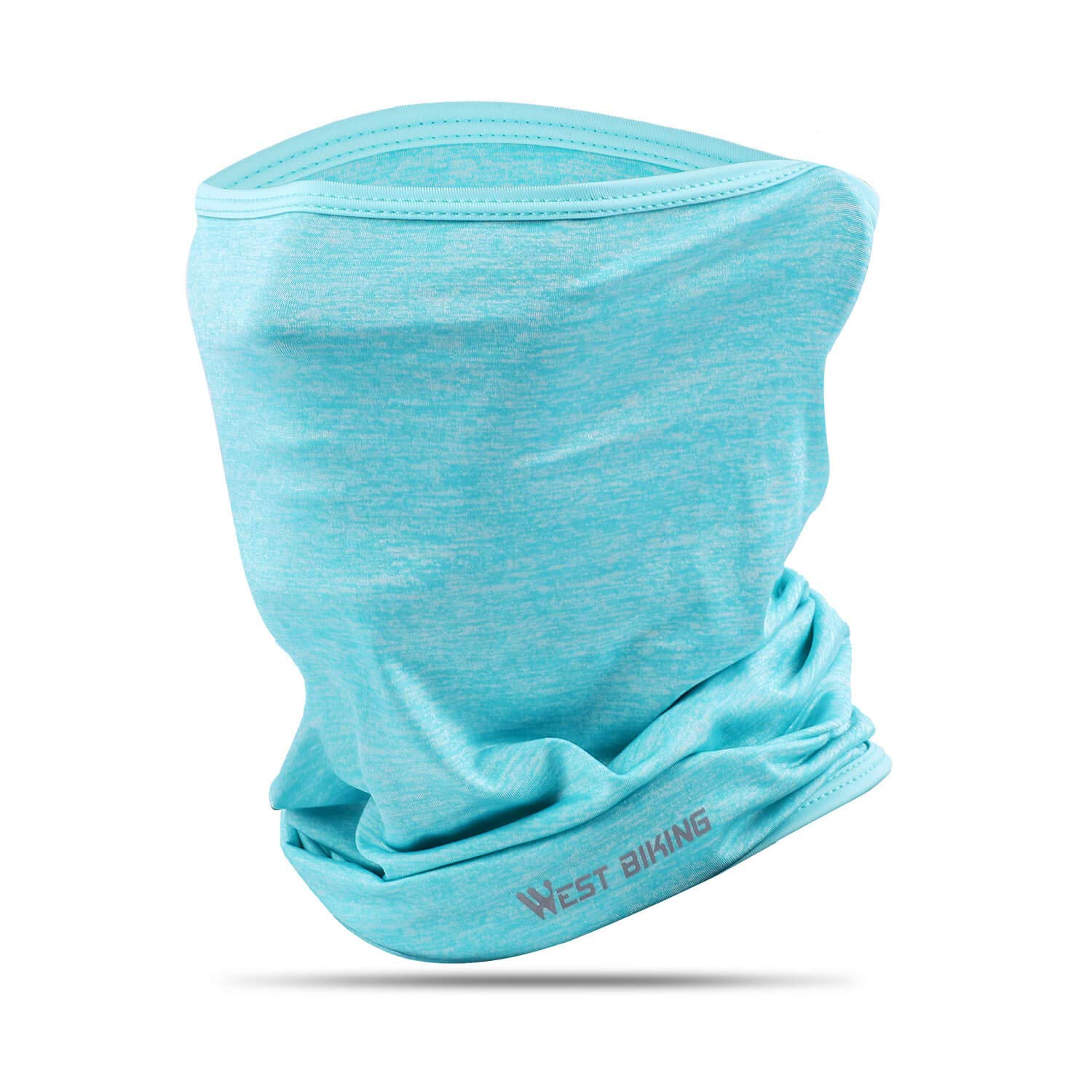 Ice Silk Breathable Balaclava, Versatile Face Mask Neck Gaiter, Riding Running Headwear for UV Wind Dust