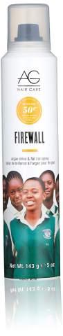AG Hair Firewall Argan Shine & Flat Iron Spray, 5 oz
