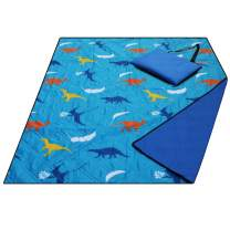 Large Waterproof Sandproof Beach Blanket, Machine Washable Picnic Blanket,Premium Comfortable Material Light Weight,Ground/Grass Mat,Folding Outdoor Camping Mat