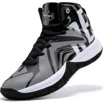 Elaphurus Kid's Basketball Shoes Boys Sneakers Girls Trainers Comfort Basketball Shoes for Boys(Little Kid/Big Kid)