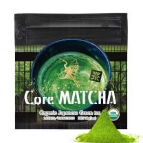 Core Matcha - Green Tea Powder, 1 ounce, Organic Authentic Japanese Purity, High Premium Grade Ichibancha, from Uji Japan