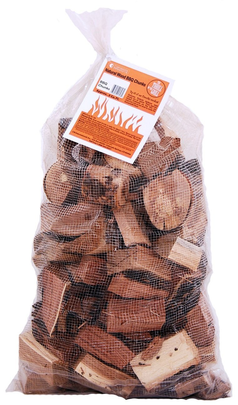 Camerons Products Smoking Wood Chunks (Cherry)- Kiln Dried BBQ Large Cut Chips- All Natural Barbecue Smoker Chunks- 10 Pound Bag