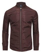 TAM WARE Mens Stylish Front Zip Lightweight Windbreaker Jacket