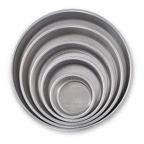 Nordic Ware Naturals Aluminum Bakeware Layer Cake Pan, Silver