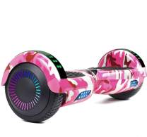 """LIEAGLE Hoverboard, 6.5"""" Self Balancing Scooter Hover Board with UL2272 Certified Wheels LED Lights for Kids Adults"""