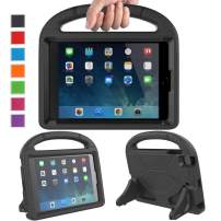 LTROP Kids Case for iPad Mini 1 2 3 4 5 - Light Weight Shock Proof Handle Friendly Convertible Stand Kids Case for iPad Mini, Mini 5, Mini 4,iPad Mini 3rd Generation, Mini 2 Tablet, Black
