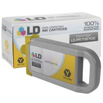 LD Compatible Ink Cartridge Replacement for Canon PFI-706Y (Yellow)