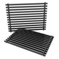Stanbroil Porcelain Enameled Grill Cooking Grates Fit Weber Spirit 500, Genesis Silver A and Spirit 200 Series (with Side Control Panels) Gas Grills, Replacement Parts for Weber 7521 7522 7523
