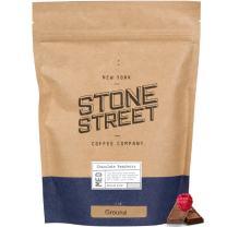 Chocolate Raspberry Flavored Ground Coffee, 1 LB Bag, Gourmet 100% Colombian Arabica Beans, Berry/Chocolate Mocha flavor