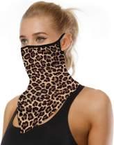 Bandana Face Mask Reusable Washable Neck Gaiter Cloth Cover Women Men Ear Loops