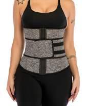 Neoprene High Compression Waist Trainer Corset Abdominal Trimmer Belt Underbust Body Shaper Hot Sweat Belly for Weight Loss