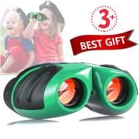 Niskite Toys for 4 5 Years Old Boys, Binoculars for Kids Children,Best Popular Gift for 6 7 8 9 10 Years Age Girls Teens Green
