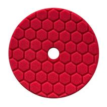 Chemical Guys BUFX117HEX5 Hex-Logic Quantum Ultra Light Finishing Pad, Red (5.5 Inch Pad made for 5 Inch backing plates)