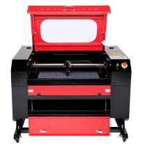 """Orion Motor Tech 60W 20"""" x 28"""" Work Area CO2 Laser Engraver Cutter, Laser Engraving Machine with Ruida Controller, Digital Laser Power Supply, Air Assist for Home and Business Use"""