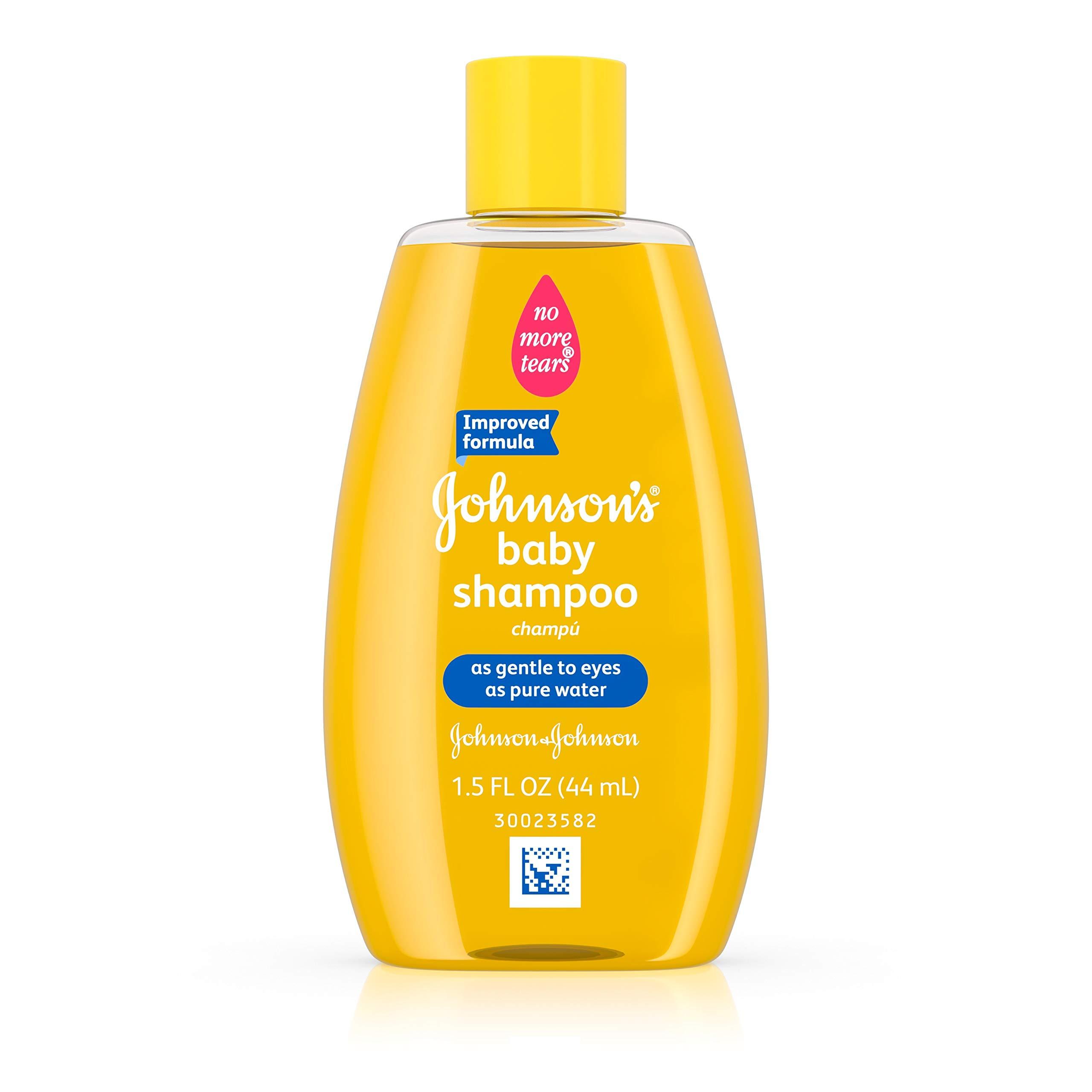 Johnson's Baby Shampoo, Travel Size, 1.5 Fl. Oz. (Pack of 48)