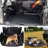 E-cowlboy Dog Car Seat Cover Trunk Cargo Liner