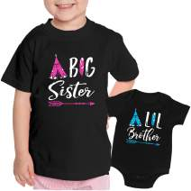 Feisty and Fabulous, Big Sister Shirt, Baby Sister Newborn Outfit,