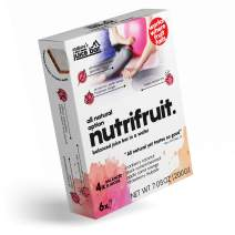 Nature's Nutrifruit Juice Bar Organic Breakfast Bars | 100 kcal Soft Fruits in Wafer | As Whole as Fruit as Convenient as Bar | Excellent Source of Potassium, Calcium & Iron 6-pack