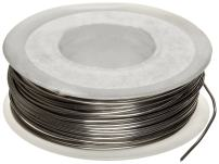 """Small Parts D28 Nickel Chromium Resistance Wire, Bright, 28 AWG, 0.08"""" Diameter, 50' Length (Pack of 1)"""