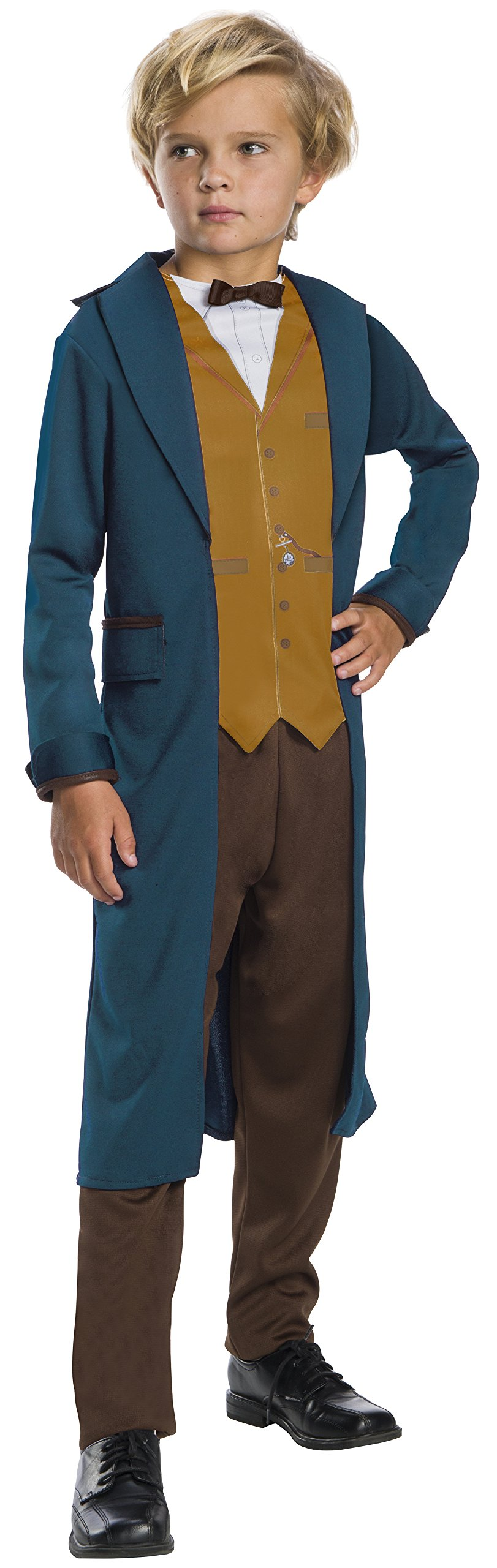Rubie's Costume Boys Fantastic Beasts & Where to Find Them Newt Scamander Costume, Large, Multicolor