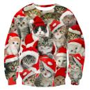 Leapparel Men Women Ugly Christmas Sweater 3D Funny Print Pullover Long Sleeve Sweatshirts