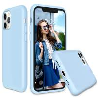 Soke iPhone 11 Pro Max Case 2019, Shockproof Soft Silicone Case Cover with Premium Microfiber Lining [Full-Body Protection + Precise Cutouts] for iPhone 11 6.5 Inch,Light Blue