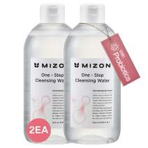 Mizon Micellar Cleansing Water with Probiotics 33.8 Ounces, Cleansing and Makeup Remover, Korean Cleansing Water with Probiotics and Natural Ingredients for Sensitive Skin (2 Pack 33.8 fl oz)