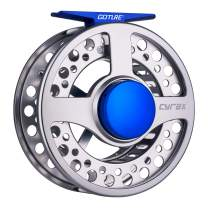 Goture Fly Fishing Reel - Large Arbor 2+1 BB with CNC-machined Aluminum Alloy Body Fly Reel Sizes 3/4, 5/6,7/8,9/10