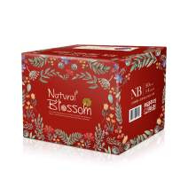 Natural Blossom - Baby Disposable Band Type Diapers Hypoallergenic for Sensitive Skin, Size 1 (Up to 11 lbs), Newborn, Count 200