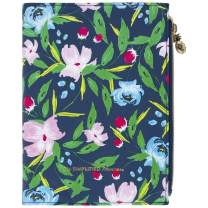 """Simplified by Emily Ley 2020 Weekly & Monthly Planner, 5-1/2"""" x 8-1/2"""", Small, Zipper Pouch Planner, Navy Floral (EL300-200)"""