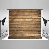 Kate 10×6.5ft Dark Wood Backdrops Brown Wooden Photo Backdrops Background for Photography Seamless Free Wrinkles Photo Studio Props