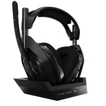 ASTRO Gaming A50 Wireless + Base Station for PlayStation 5, PlayStation 4 & PC - Black/Silver