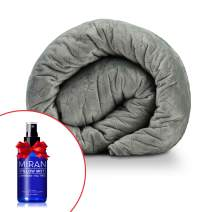 """MIRAN Weighted Blanket for Adults with Removable Cover