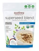 Nutiva Organic Superseed Blend, Coconut, 10 Ounce
