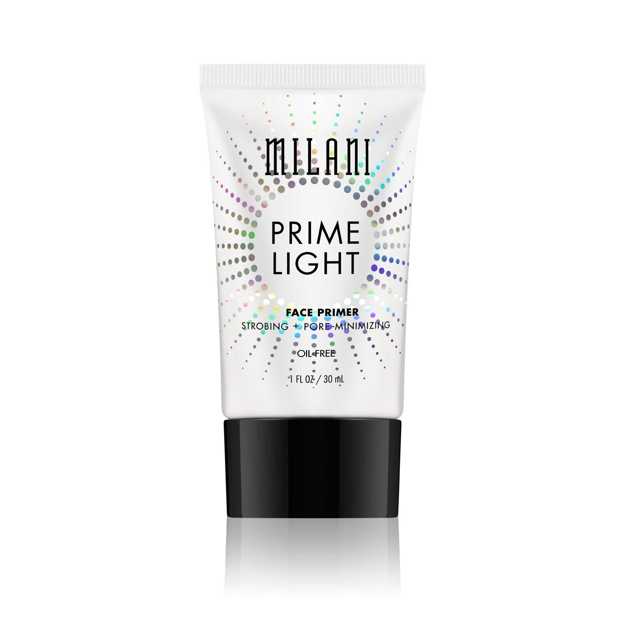 Milani Prime Light Strobing + Pore Minimizing Face Primer - Vegan, Cruelty-Free Face Makeup Primer to Color Correct Skin & Reduce Appearance of Pores