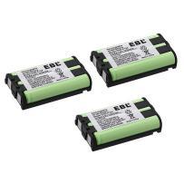 EBL Pack of 3 Cordless Phone Battery for HHR-P104 HHR-P104A Type 29, KX-FG6550 KX-FPG391 KX-TG2388B KX-TG2396 and More