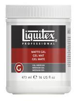 Liquitex Professional Matte Gel Medium, 16-oz