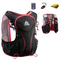 JEELAD Hydration Vest 5L Hydration Backpack Pack Trail Running Race Vest Backpack for Marathon Hiking Biking Cycling