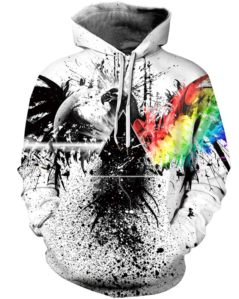 Unisex 3D Novelty Hoodies Graphic Print Galaxy Hoodies Pullover Sweatshirt Pockets