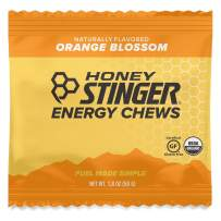 Honey Stinger Organic Energy Chews, Orange Blossom, Sports Nutrition, 1.8 Ounce (Pack of 12)