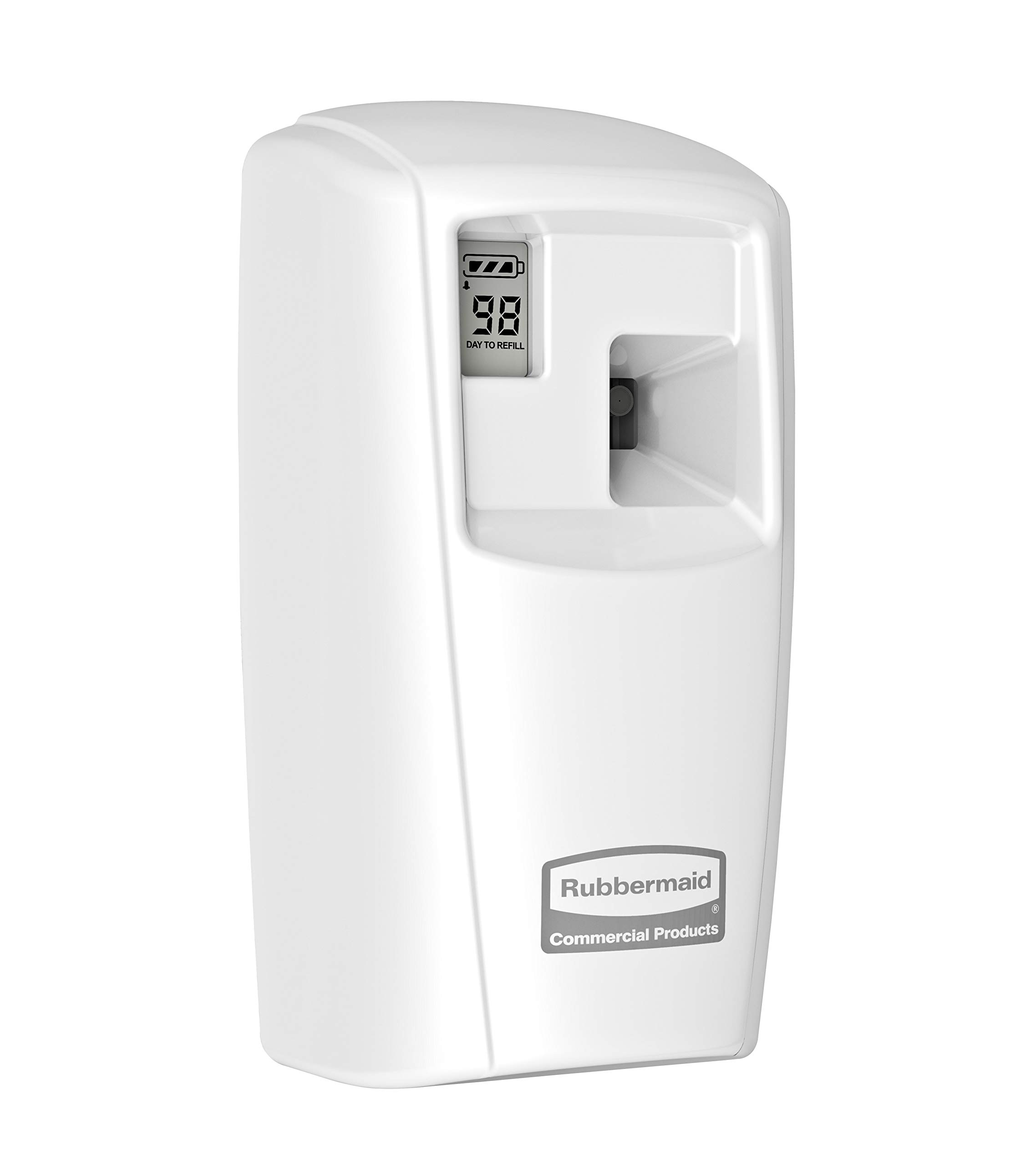 Rubbermaid Commercial Products Microburst Automated Odor-Controlling Aerosol Air Care System, MB3000 Dispenser, White