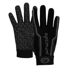 Optimum Football Receiver Gloves Pro Grip for Youth and Adult