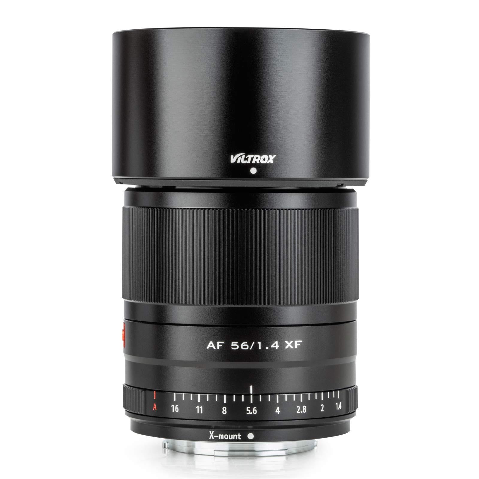 VILTROX 56mm F1.4 AF MF STM Fixed Focus Prime Lens Auto Focus for Fuji X Mount Fujifilm X-T3 X-T2 X-T1 X-T30 X-T20 X-T100 Cameras